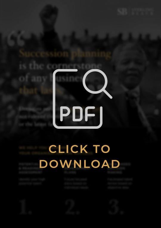 Sterling Black CEO Succession Resource PDF